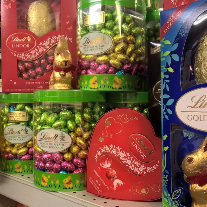 Lindt Eggs Are in Store